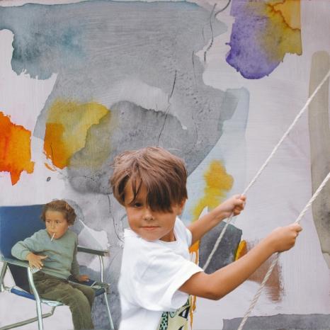 Série «Générations», moi et mon fils au même âge, 5 ans, les mêmes bonne joues.